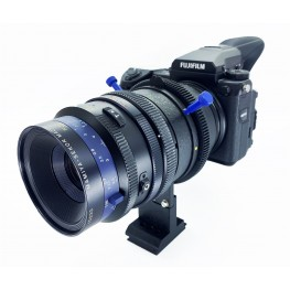 Adapter to use Mamiya RB / RZ 67 Lenses (Sekor Z, Sekor K/L etc.) on Fujifilm GFX 50S 50R 100S Cameras with Independent Camera Rotation Rasterized in 90° steps #2